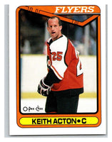 1990-91 O-Pee-Chee #355 Keith Acton Mint