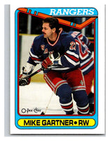 1990-91 O-Pee-Chee #373 Mike Gartner Mint