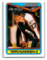 1990-91 O-Pee-Chee #385 Teppo Numminen Mint RC Rookie