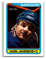 1990-91 O-Pee-Chee #391 Mark Janssens Mint