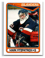 1990-91 O-Pee-Chee #395 Mark Fitzpatrick Mint RC Rookie
