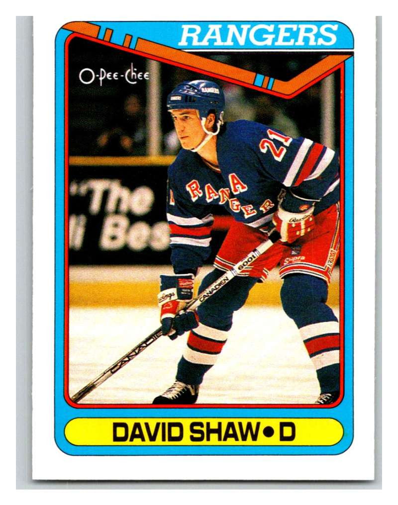 1990-91 O-Pee-Chee #403 David Shaw Mint