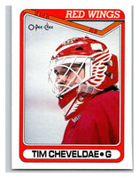 1990-91 O-Pee-Chee #430 Tim Cheveldae Mint RC Rookie