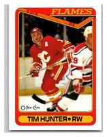 1990-91 O-Pee-Chee #434 Tim Hunter Mint RC Rookie