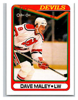 1990-91 O-Pee-Chee #438 David Maley Mint