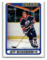 1990-91 O-Pee-Chee #471 Jeff Beukeboom Mint RC Rookie