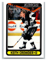 1990-91 O-Pee-Chee #476 Keith Crowder Mint