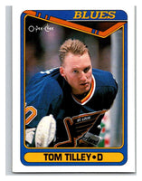 1990-91 O-Pee-Chee #498 Tom Tilley Mint