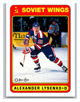 1990-91 O-Pee-Chee #500 Alexander Lysenko Mint RC Rookie