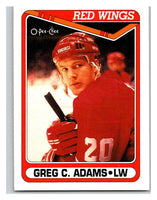 1990-91 O-Pee-Chee #518 Greg C. Adams Mint