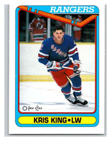 1990-91 O-Pee-Chee #526 Kris King Mint RC Rookie