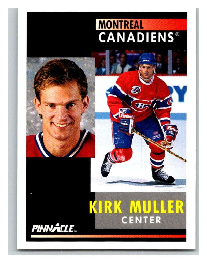 1991-92 Pinnacle #3 Kirk Muller Canadiens