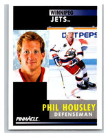 1991-92 Pinnacle #4 Phil Housley Winn Jets