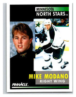 1991-92 Pinnacle #5 Mike Modano North Stars