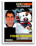 1991-92 Pinnacle #30 Pierre Turgeon NY Islanders