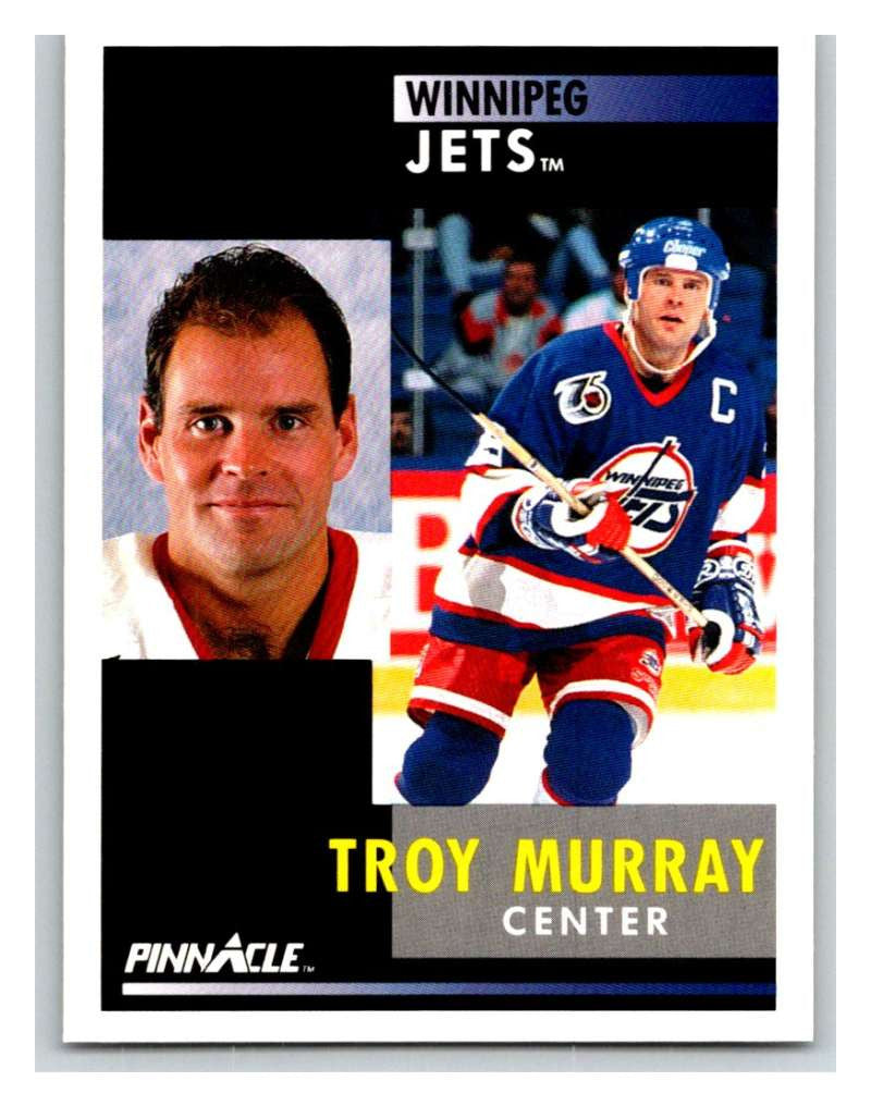 1991-92 Pinnacle #33 Troy Murray Winn Jets