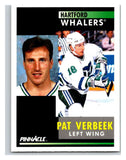 1991-92 Pinnacle #43 Pat Verbeek Whalers