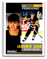 1991-92 Pinnacle #53 Jaromir Jagr Penguins