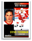 1991-92 Pinnacle #75 Steve Yzerman Red Wings