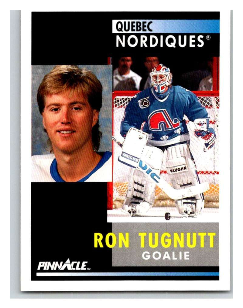 1991-92 Pinnacle #124 Ron Tugnutt Nordiques
