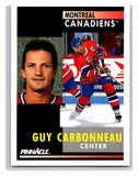 1991-92 Pinnacle #130 Guy Carbonneau Canadiens