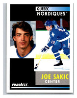 1991-92 Pinnacle #150 Joe Sakic Nordiques