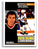 1991-92 Pinnacle #159 Petr Klima Oilers