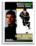 1991-92 Pinnacle #161 Neal Broten North Stars