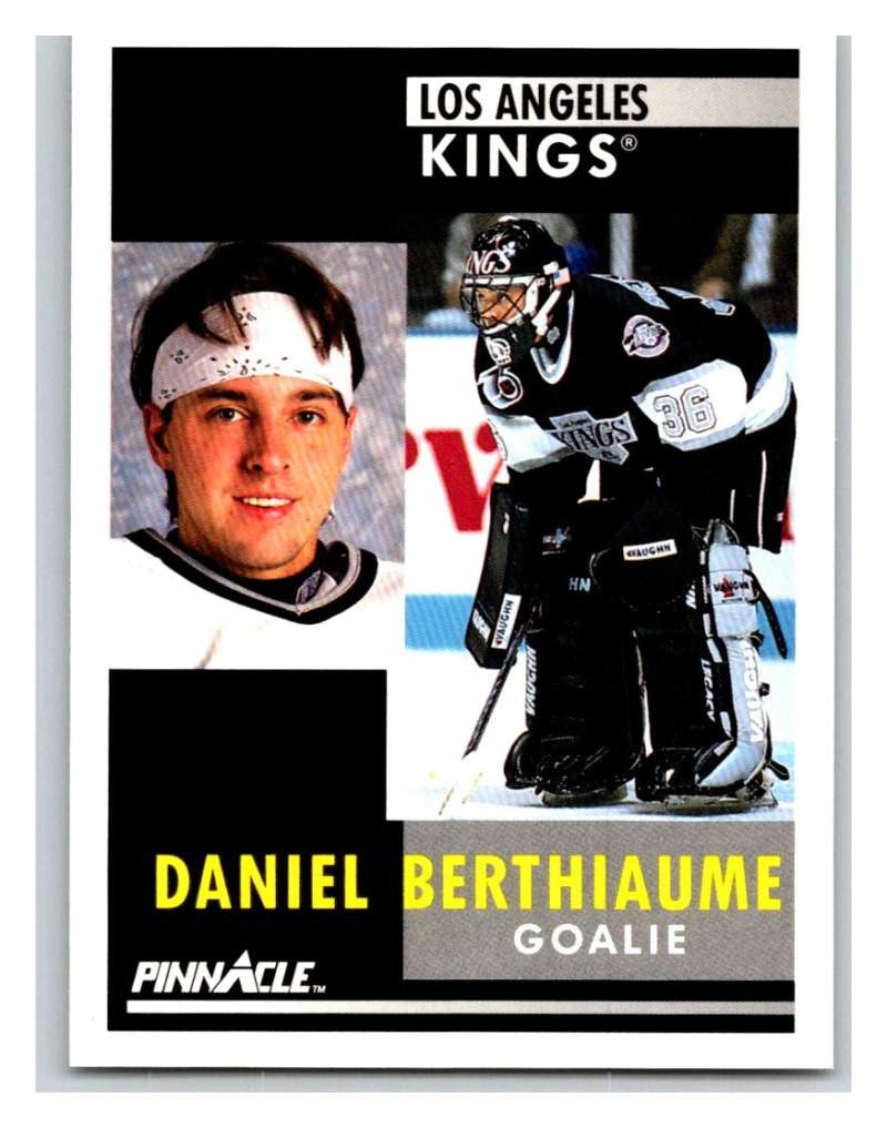 1991-92 Pinnacle #165 Daniel Berthiaume Kings
