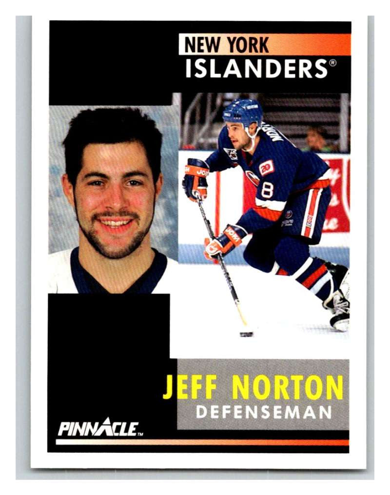 1991-92 Pinnacle #172 Jeff Norton NY Islanders
