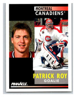 1991-92 Pinnacle #175 Patrick Roy Canadiens