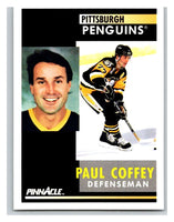 1991-92 Pinnacle #186 Paul Coffey Penguins