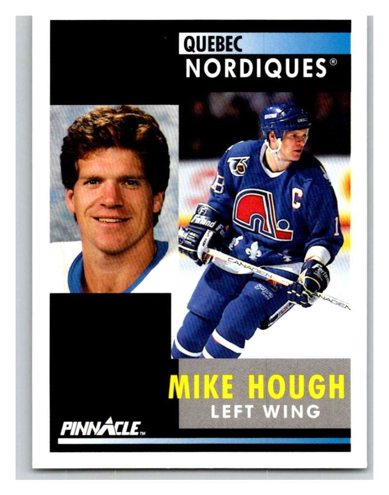 1991-92 Pinnacle #194 Mike Hough Nordiques