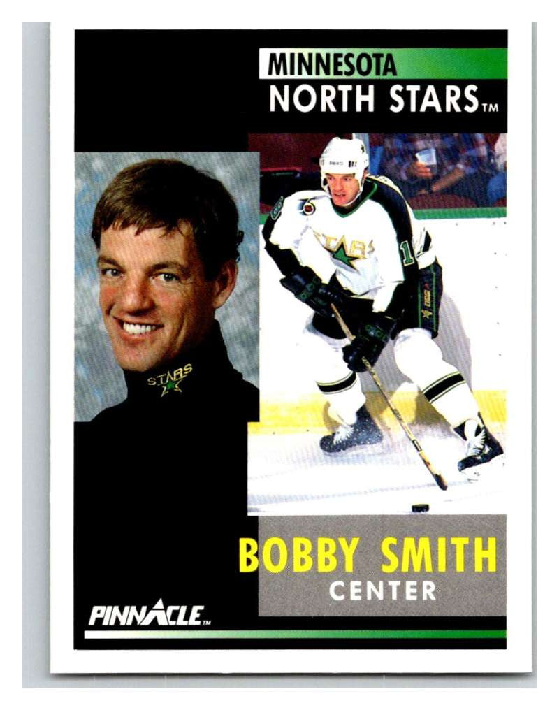 1991-92 Pinnacle #210 Bobby Smith North Stars