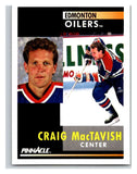 1991-92 Pinnacle #215 Craig MacTavish Oilers
