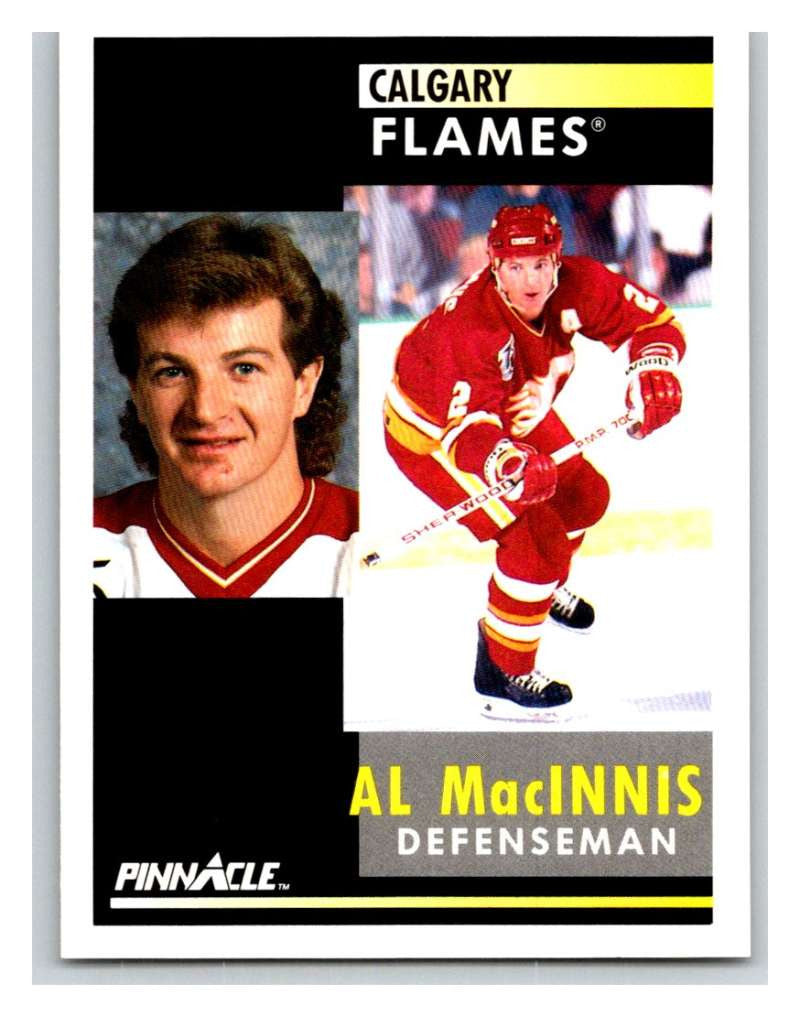 1991-92 Pinnacle #220 Al MacInnis Flames