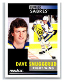 1991-92 Pinnacle #223 Dave Snuggerud Sabres