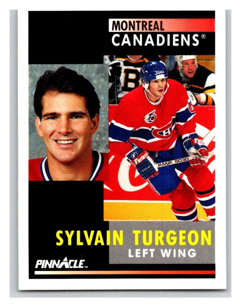 1991-92 Pinnacle #226 Sylvain Turgeon Canadiens