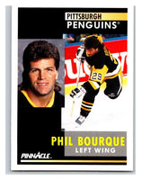 1991-92 Pinnacle #227 Phil Bourque Penguins