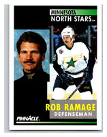 1991-92 Pinnacle #228 Rob Ramage North Stars