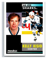 1991-92 Pinnacle #231 Kelly Kisio Sharks