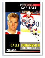 1991-92 Pinnacle #232 Calle Johansson Capitals