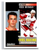 1991-92 Pinnacle #233 Yves Racine Red Wings