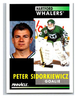 1991-92 Pinnacle #234 Peter Sidorkiewicz Whalers
