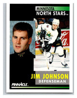 1991-92 Pinnacle #235 Jim Johnson North Stars