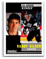1991-92 Pinnacle #238 Randy Gilhen Kings
