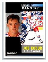 1991-92 Pinnacle #240 Joey Kocur NY Rangers