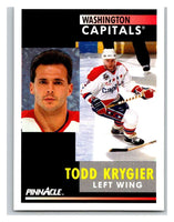 1991-92 Pinnacle #242 Todd Krygier Capitals