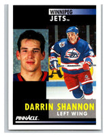 1991-92 Pinnacle #243 Darrin Shannon Winn Jets