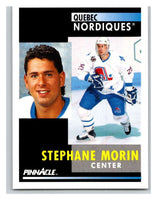 1991-92 Pinnacle #245 Stephane Morin Nordiques